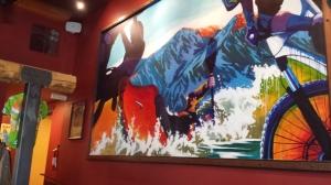 Eddyline Interior Artwork