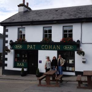 Lunch at the pub in Cong where the movie Quiet Man with John Wayne and Maureen O'Hara was filmed. Slainte!